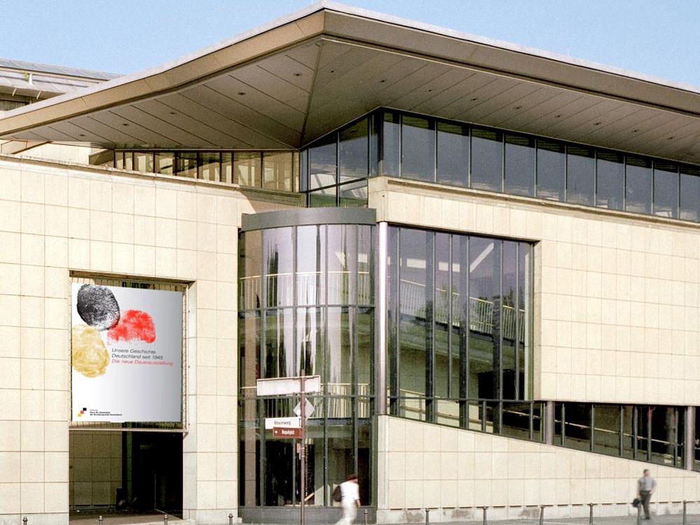 Außen-Ansicht Haus der Geschichte Bonn