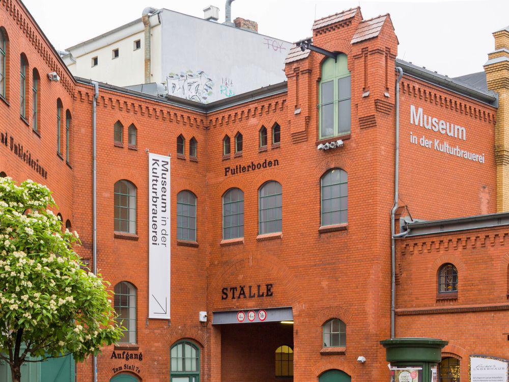 Außen-Ansicht Museum in der Kultur-Brauerei Berlin