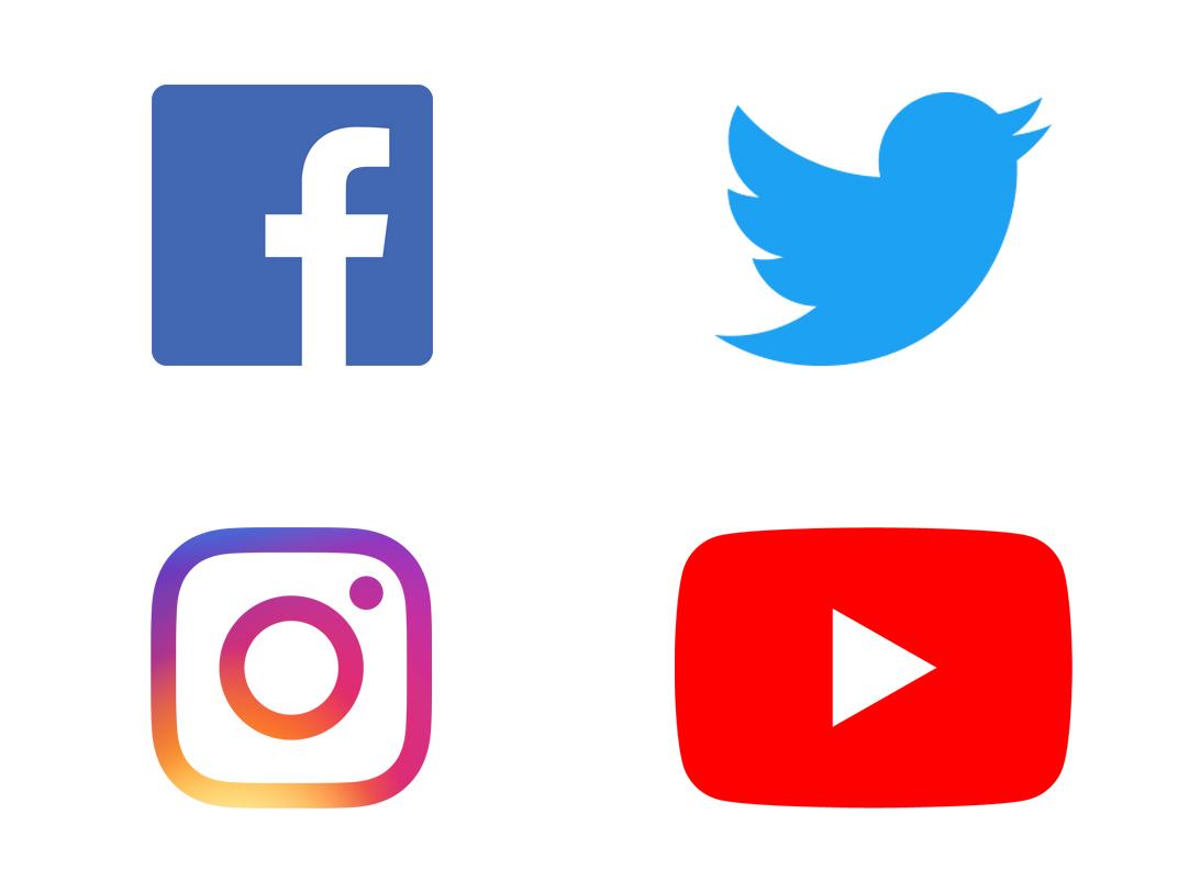 Logos Soziale Netz-Werke