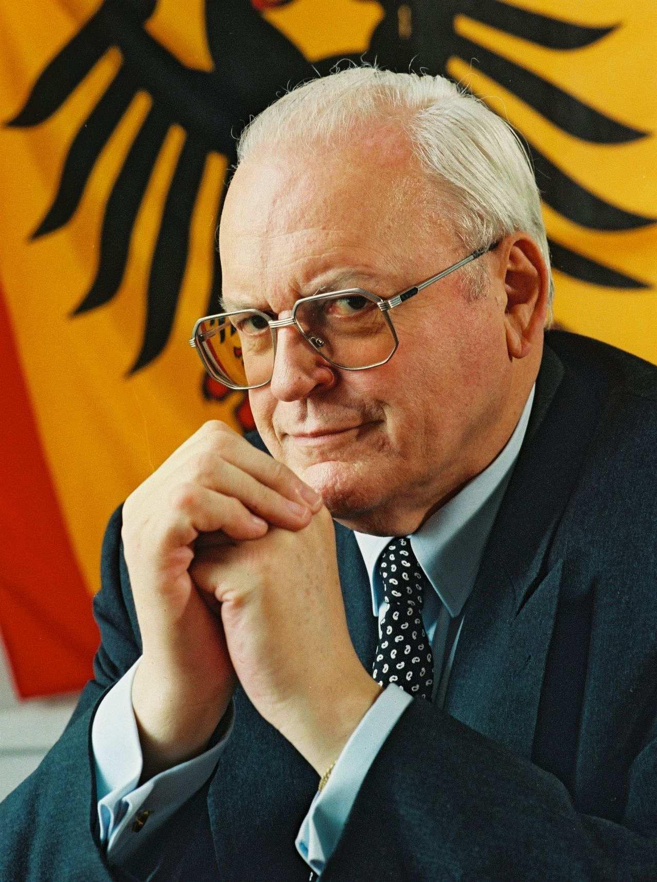 Porträtfoto von Roman Herzog, Bundespräsident (1994-1999).