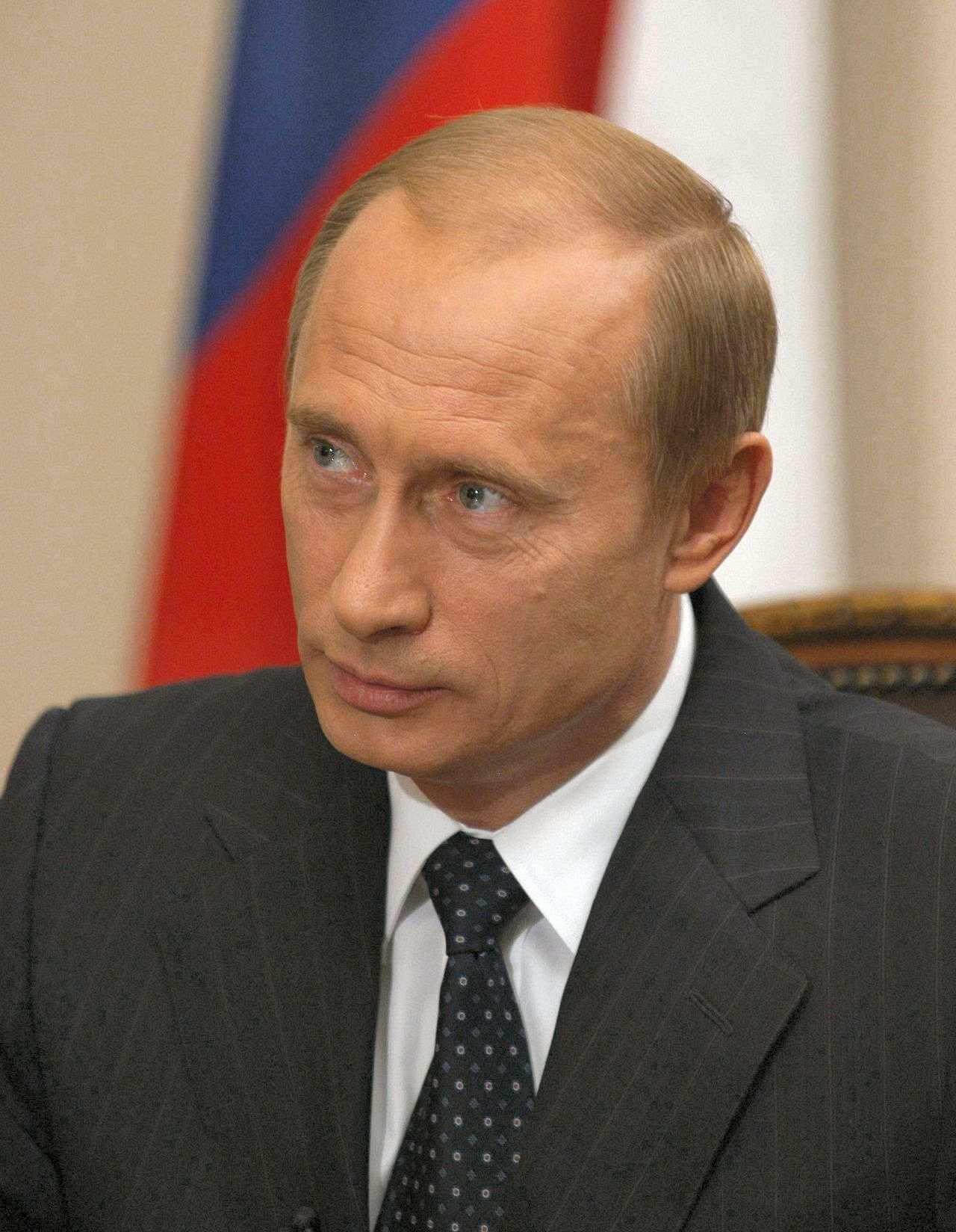 offizielles portrtfoto von wladimir putin prsident der russischen fderation 2000 2008 und seit - Putin Lebenslauf