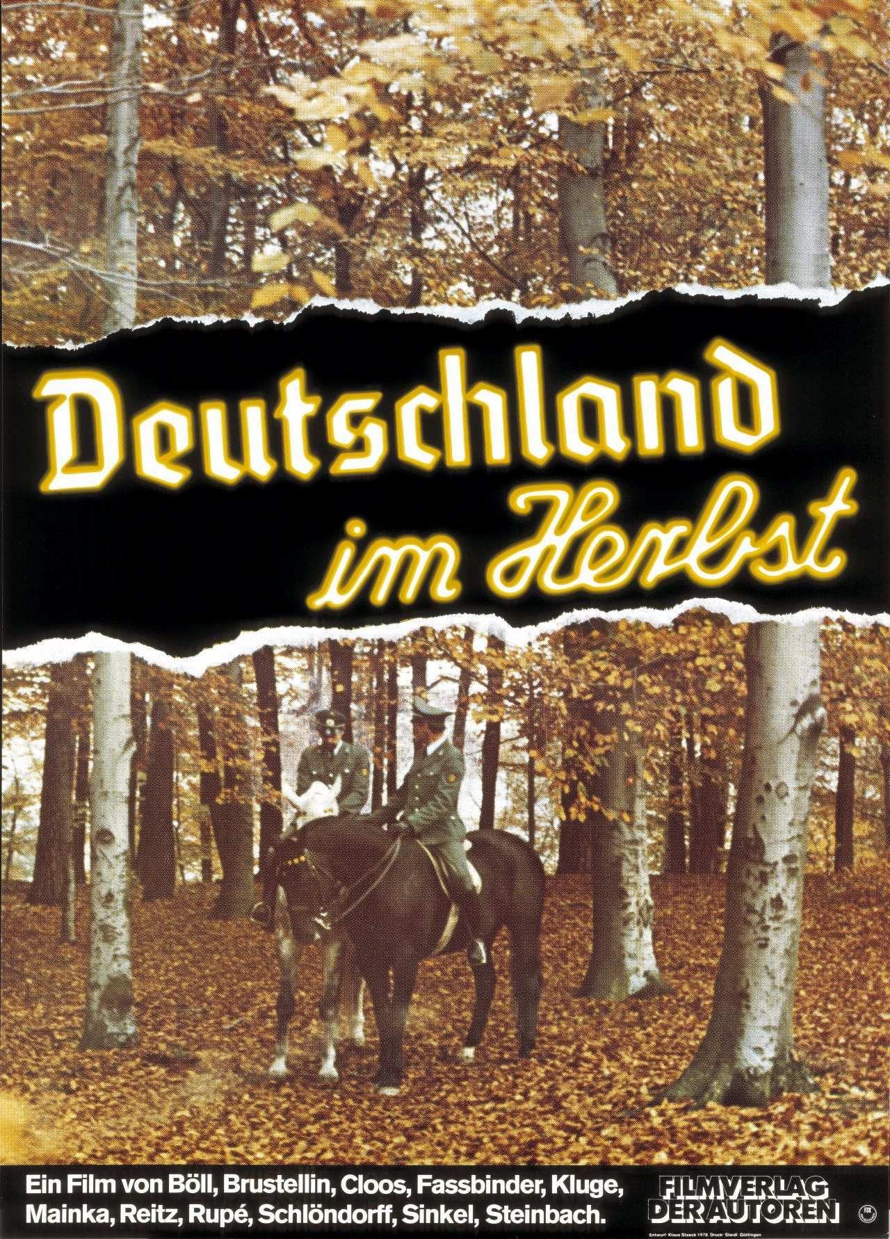 Deutschland im herbst hintergrund