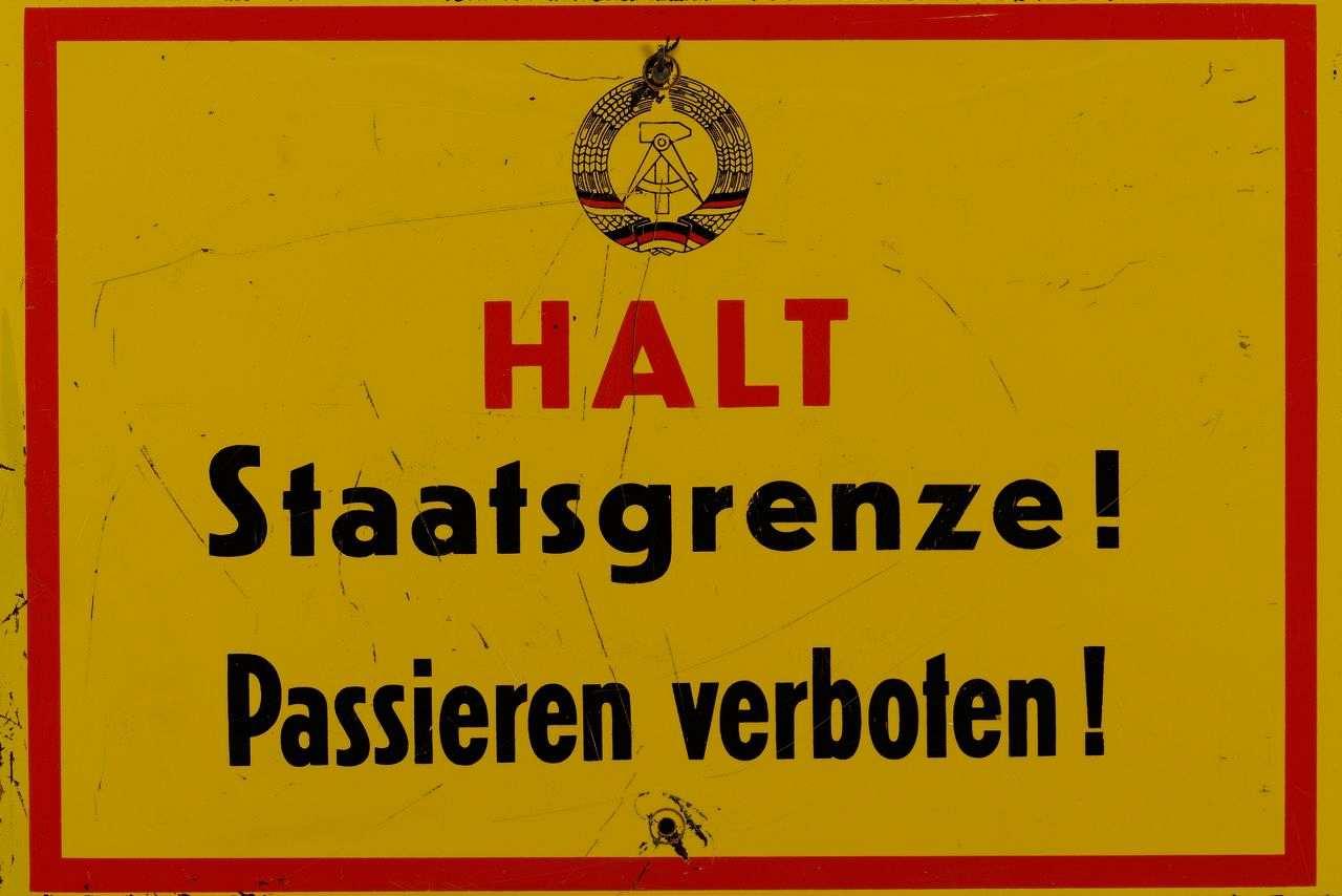 Ddr Grenze Karte Harz.Lemo Kapitel Grenzsicherung