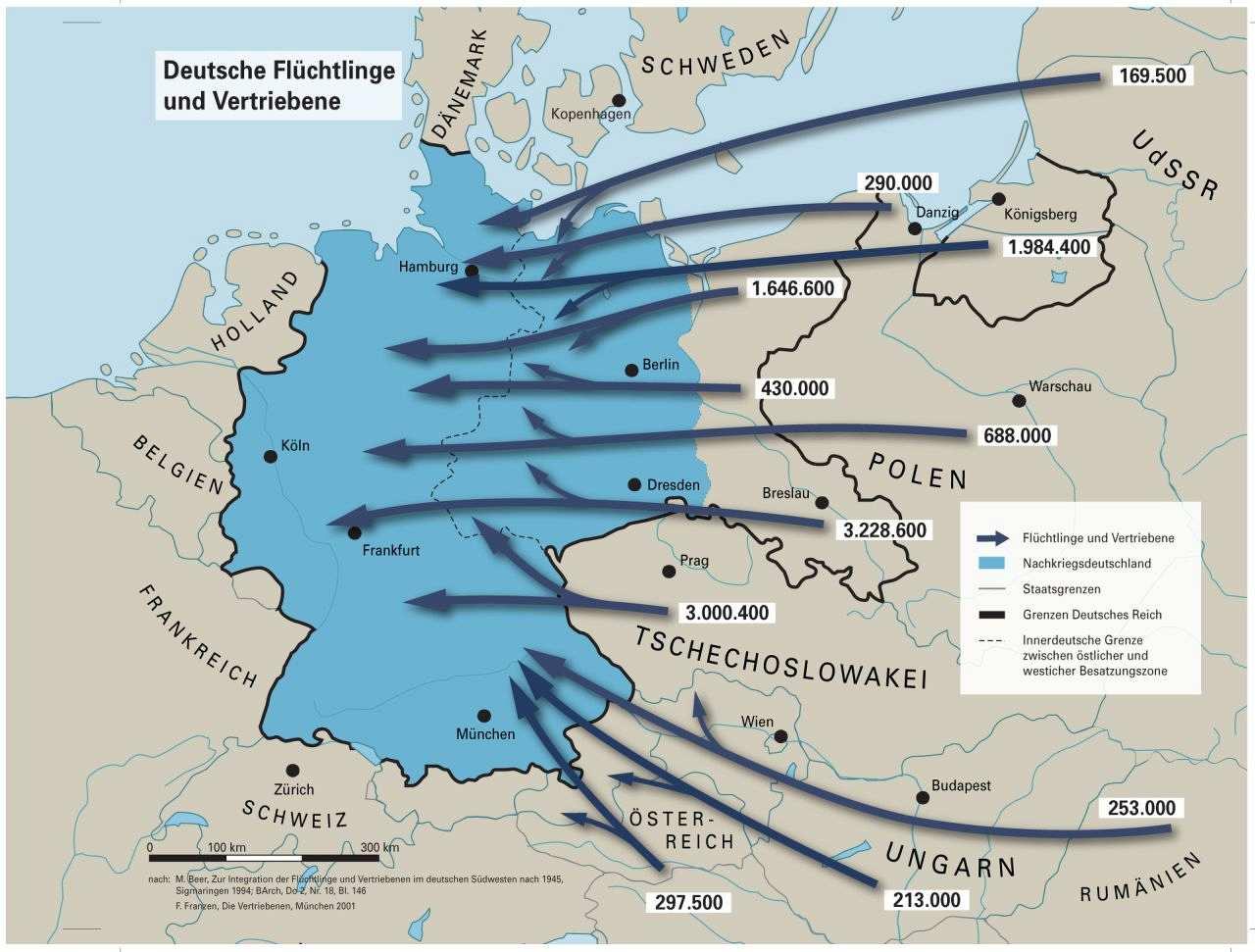 2 Weltkrieg Karte.Lemo Kapitel Flucht Und Vertreibung