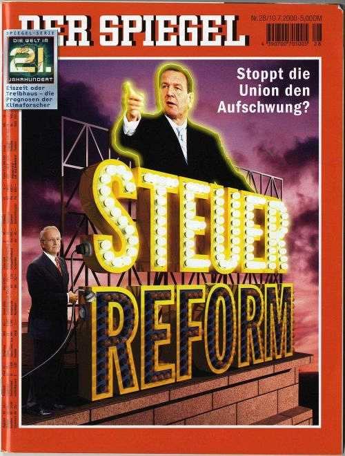 Lemo kapitel erste rot gr ne reformen for Spiegel titelblatt