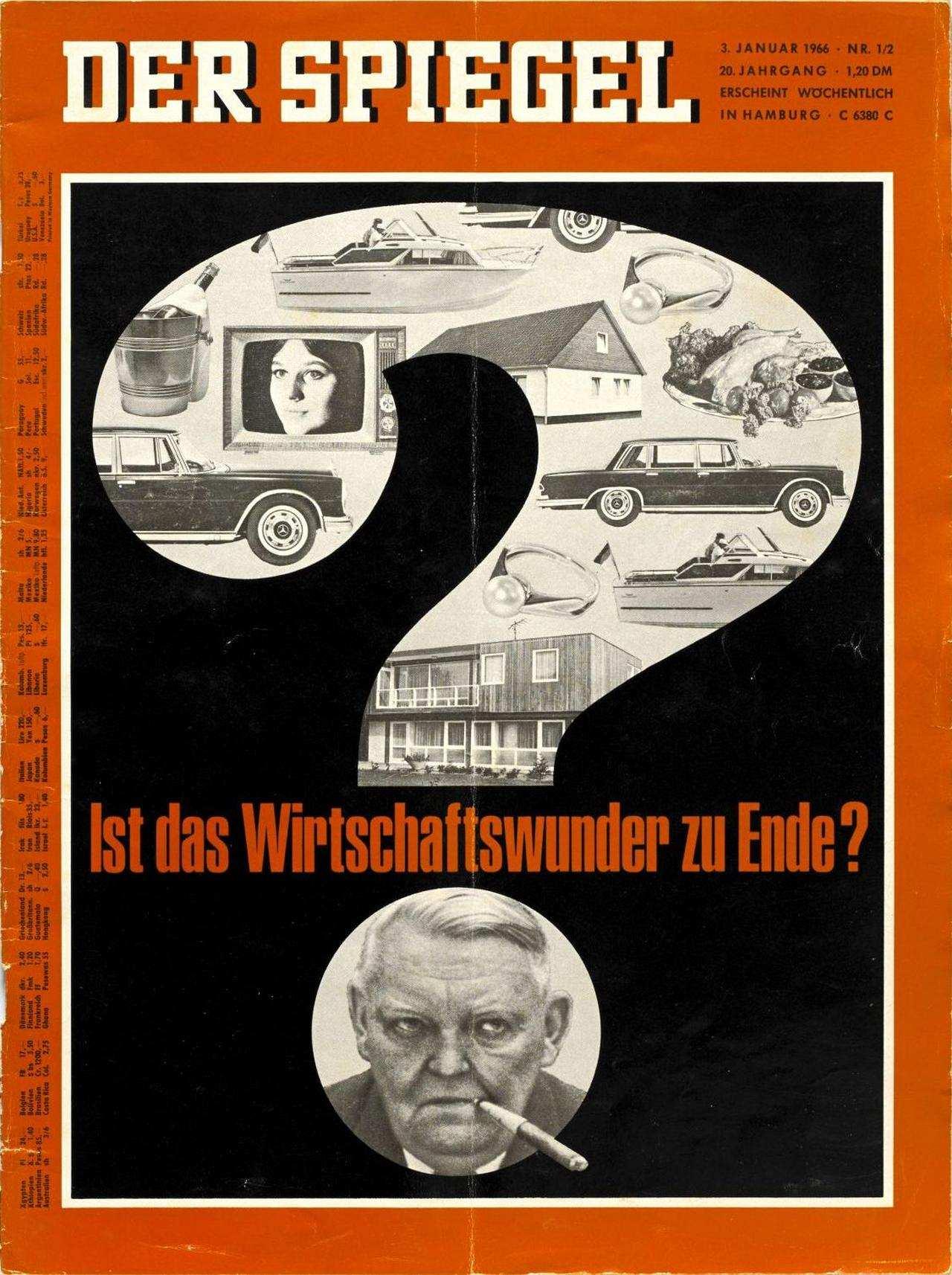 Lemo kapitel regierungen erhard und kiesinger for Spiegel deutschland