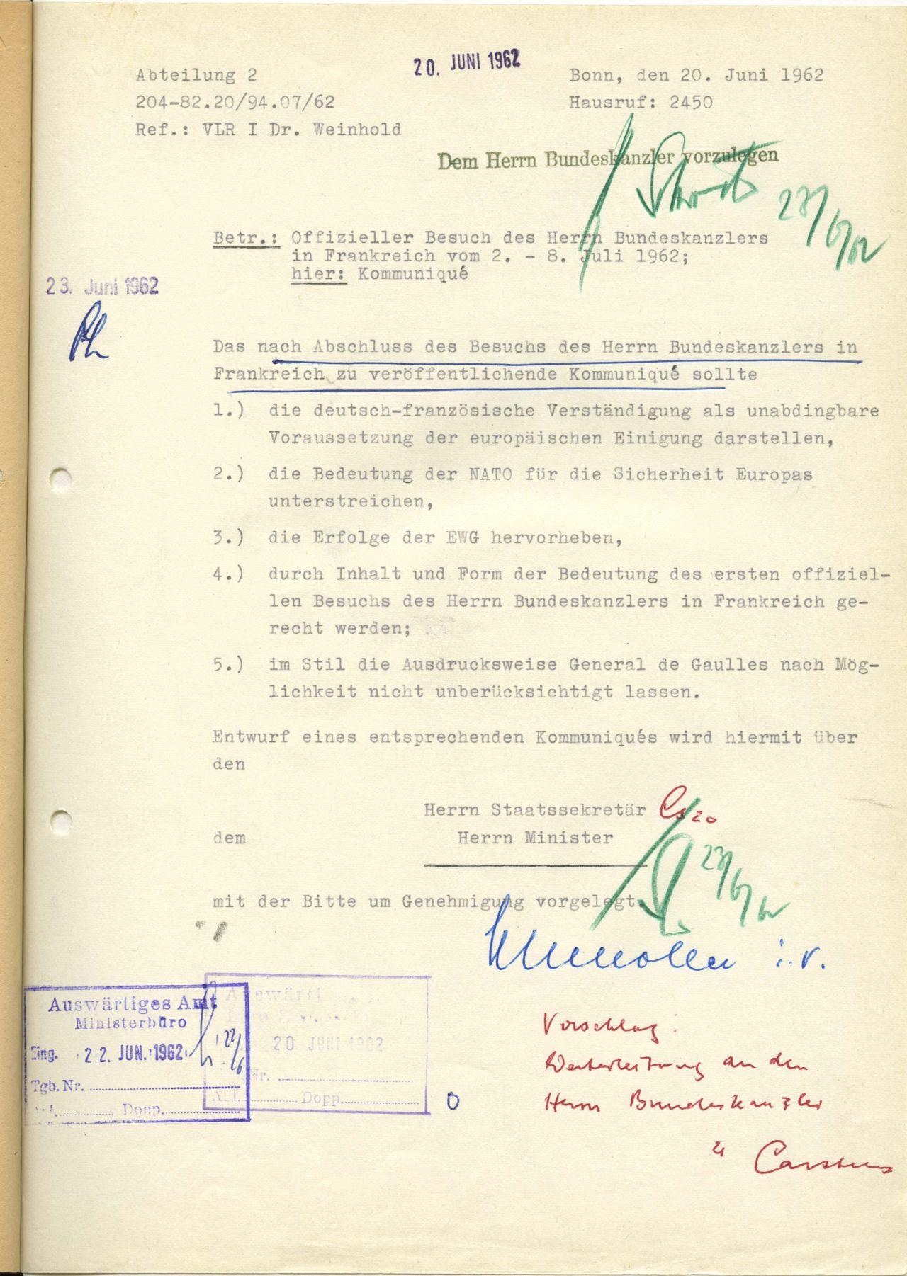 Lemo Kapitel Deutsch Französische Aussöhnung