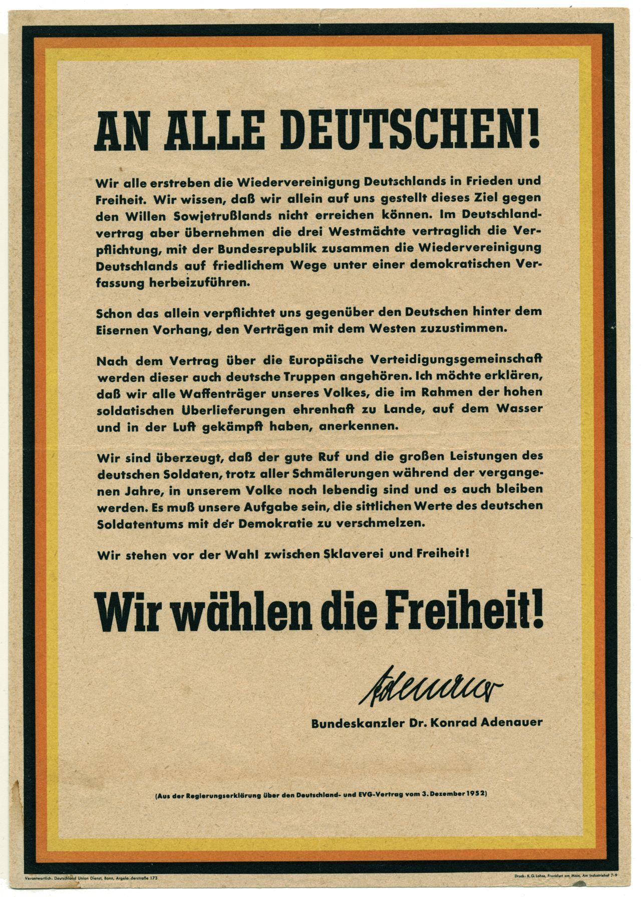 LeMO Bestandsuche - deutsche Wiedervereinigung