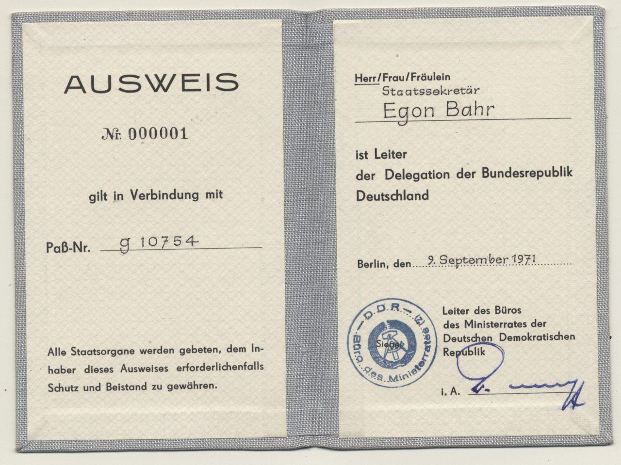 LeMO Bestandsuche - Ausweis