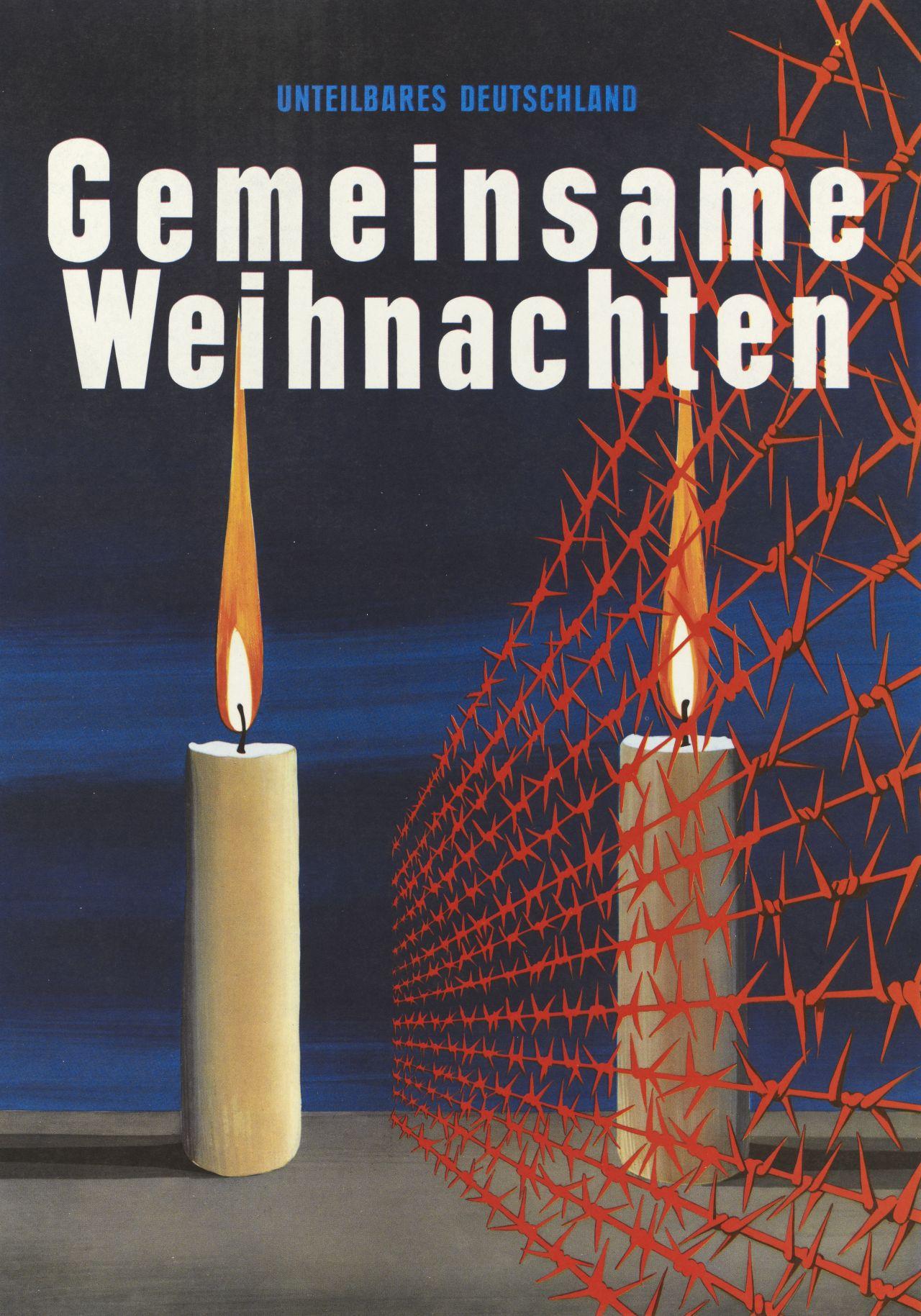 """LeMO-Objekt: Plakat """"Gemeinsame Weihnachten"""""""