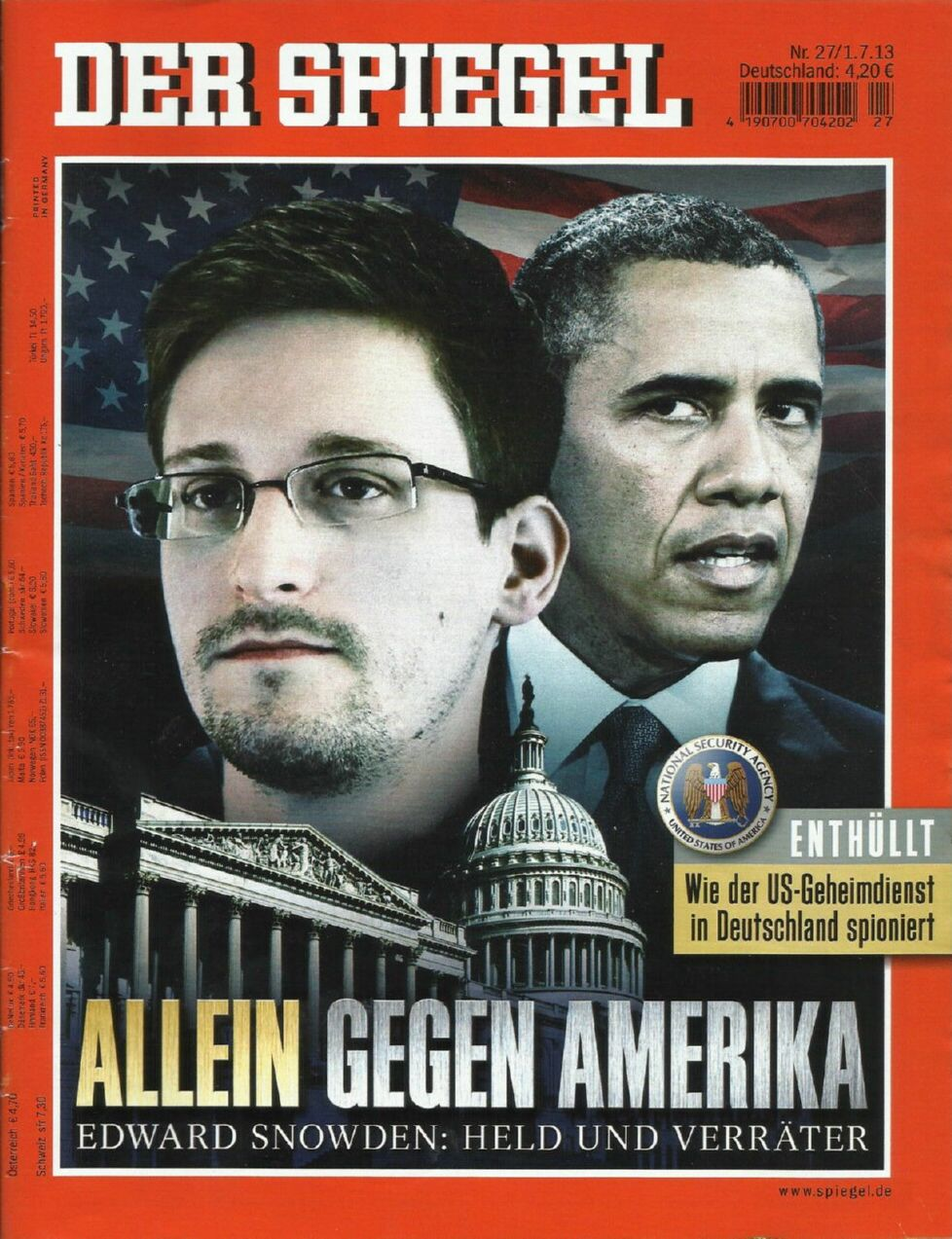 lemo objekt der spiegel 27 2013 edward snowden allein. Black Bedroom Furniture Sets. Home Design Ideas
