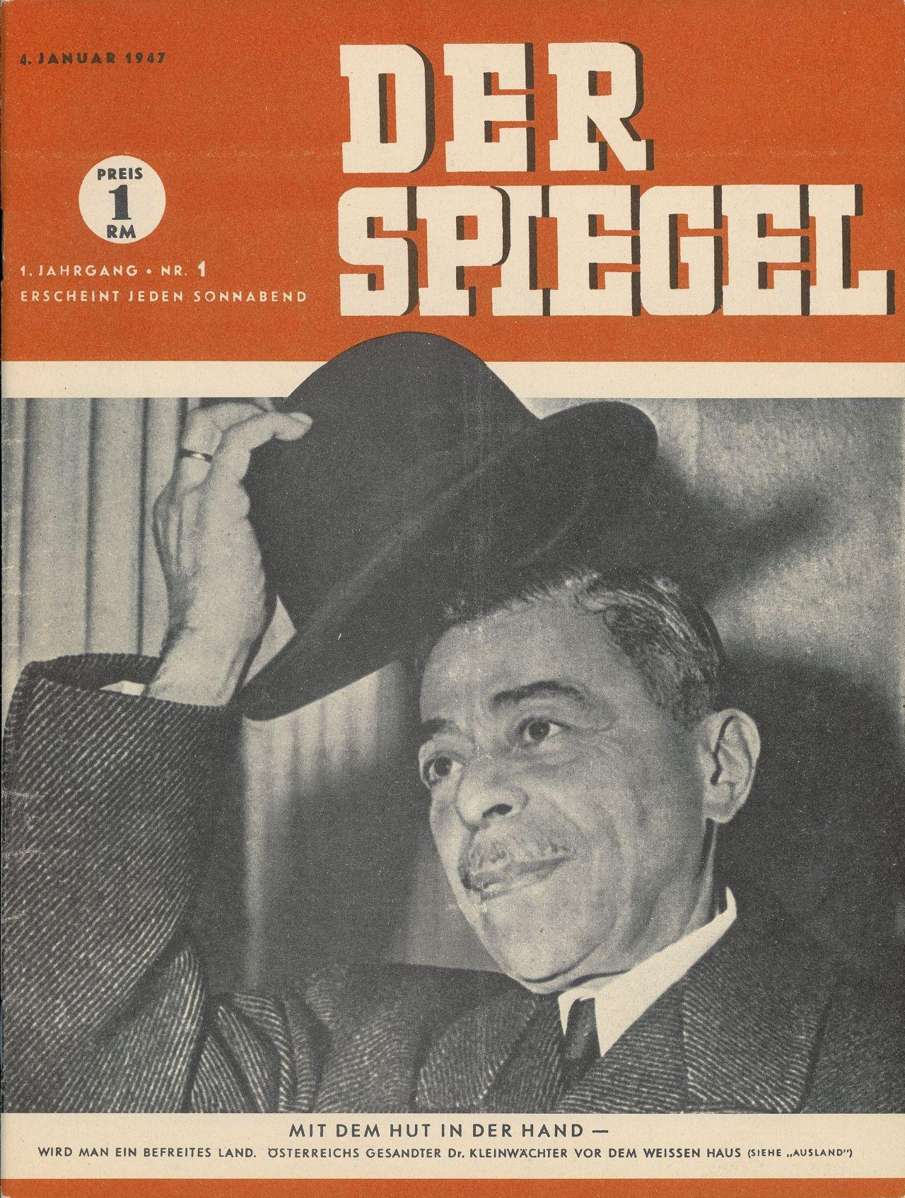 Lemo objekt erstes spiegel heft for Spiegel titelblatt
