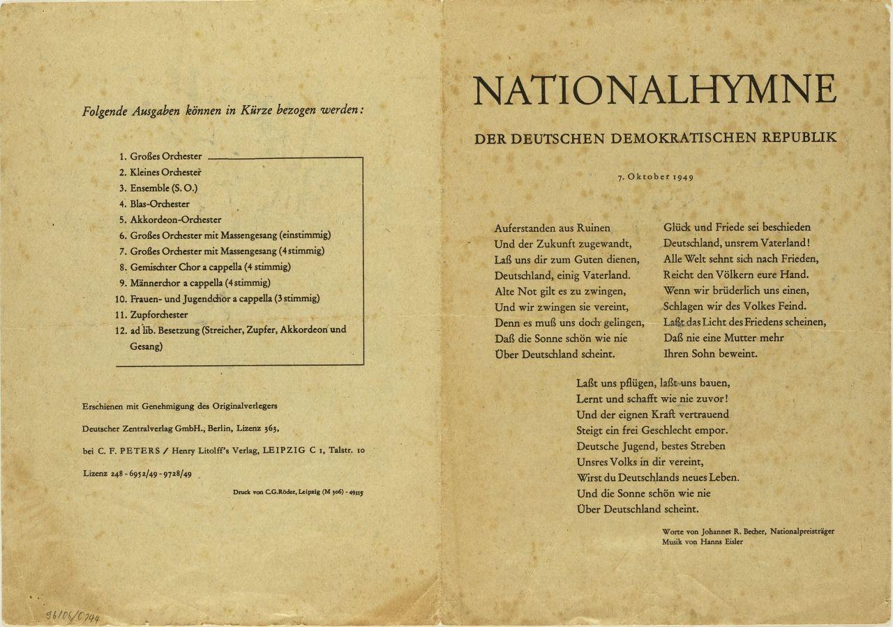 deutscher text der amerikanischen nationalhymne