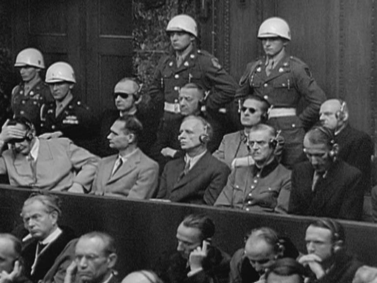 Nuernberger Prozesse on Marshall Plan