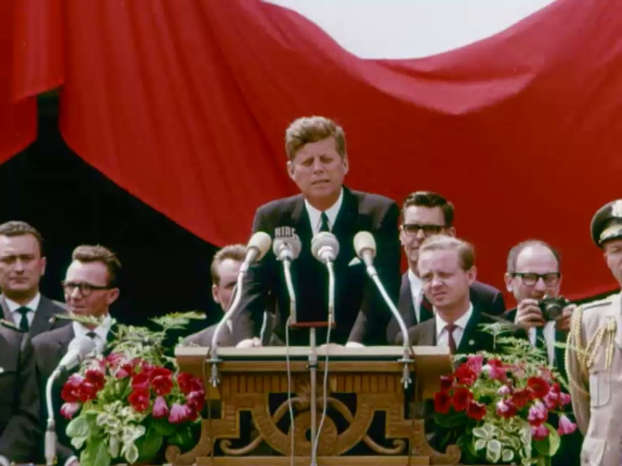 Video John F. Kennedy in Berlin