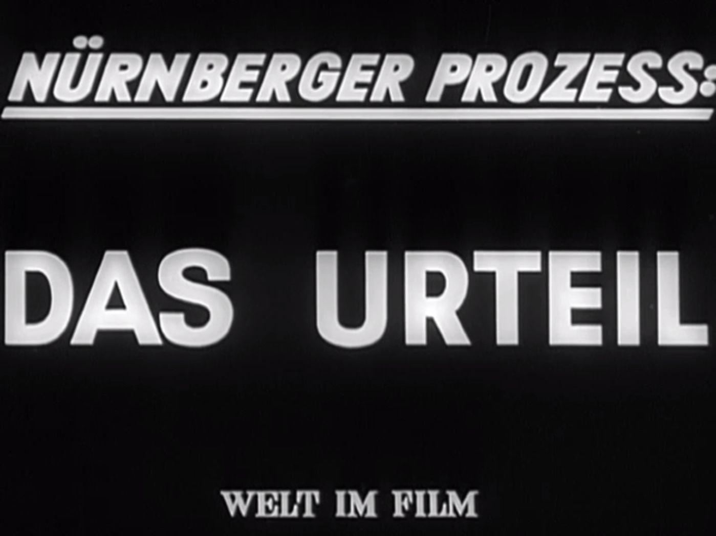 LeMO Kapitel: Nürnberger Prozesse